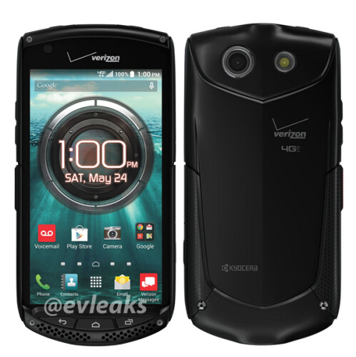 Verizon's red HTC One M8 and Kyocera Brigadier