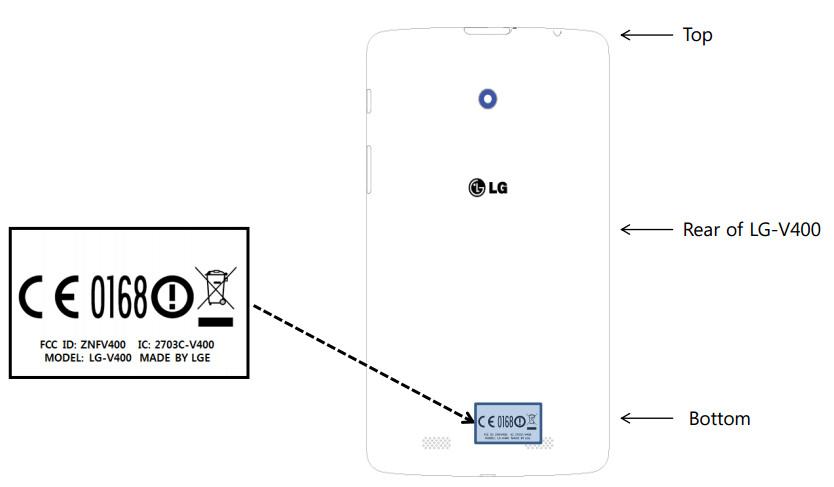 LG V700