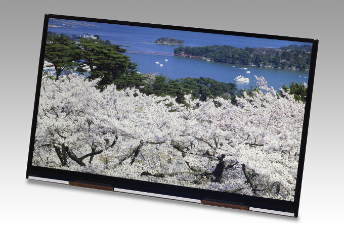"""4K tablets, here we come! JDI unveils the first 10.1"""" 4K display, with record 438ppi pixel density"""