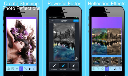 PhotoMirror / Photo Reflection - Android, iOS - Free