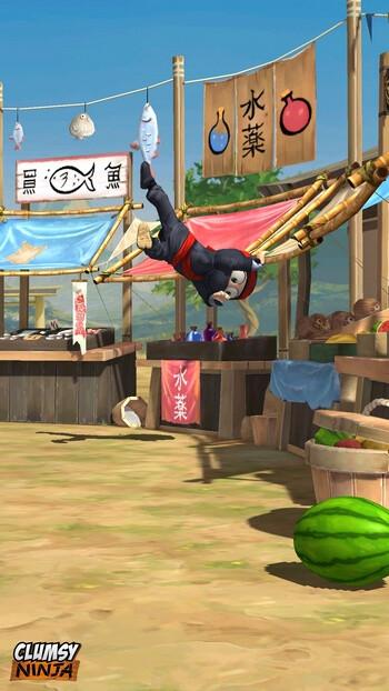 Clumsy Ninja screenshots