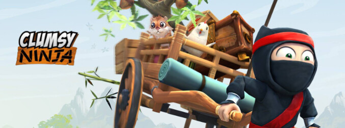 Clumsy Ninja is now treating us to some inept martial arts moves on Android for free