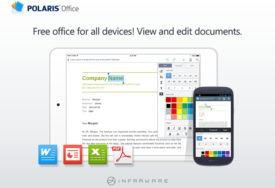 POLARIS Office gets a complete overhaul: goes free (w/ free edit) and adds own cloud service