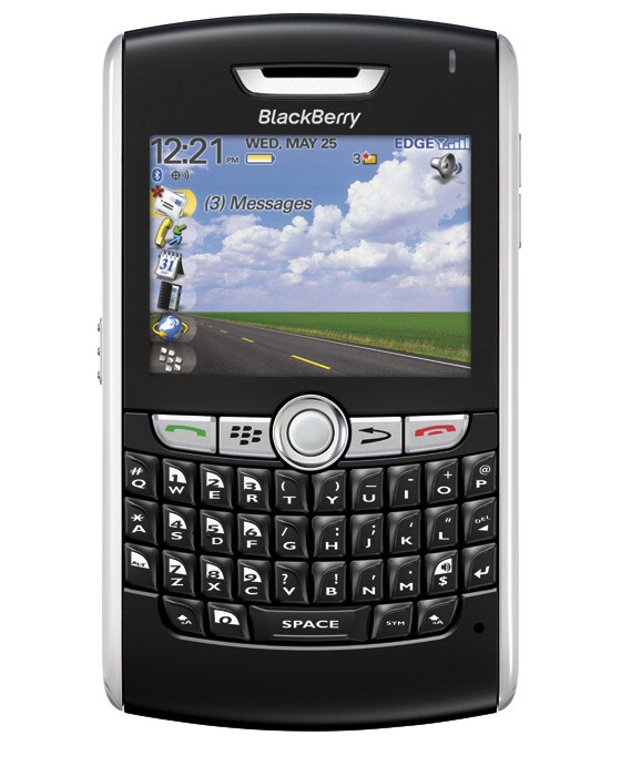 BlackBerry 8800 - RIM BlackBerry and AT&T announce the 8800