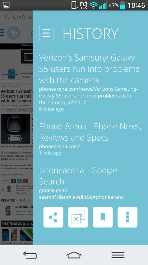 New Javelin browser for Android is built with security and convenience in mind