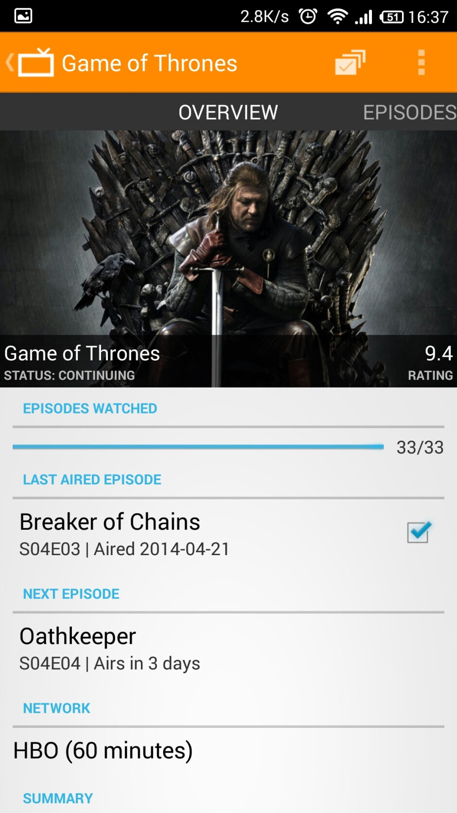 Twee review: the ultimate app for TV shows addicts