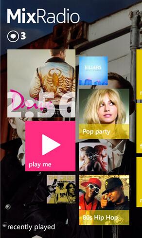 Nokia MixRadio has received an update - Nokia MixRadio update adds new features