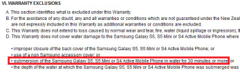 Samsung's New Zealand site leaks IP67 certification for the Samsung Galaxy S5 mini
