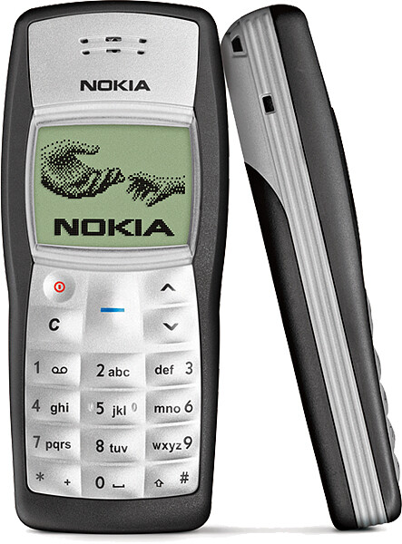 Nokia 1100, the world's best selling phone - The best selling phone in the world: can you guess which one is it?