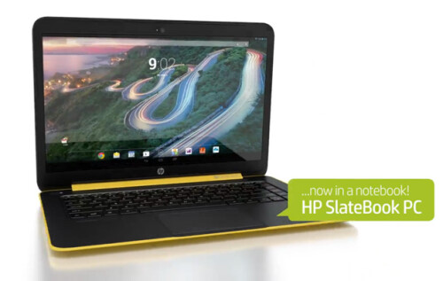 HP SlateBook 14 leaks out: the first Android-based notebook