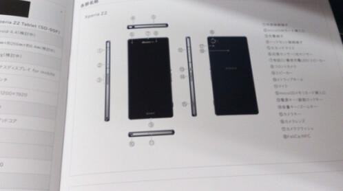 Sony Xperia Z2 for Japan's Docomo
