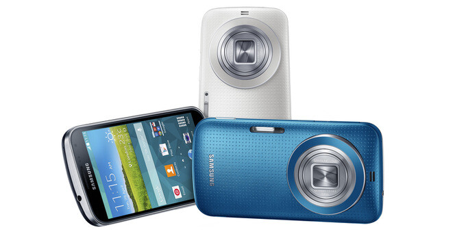 Samsung Galaxy K Zoom is official: 20.7MP, OIS, and 10x optical zoom in a stylish body