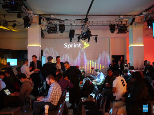 More photos from Sprint's event