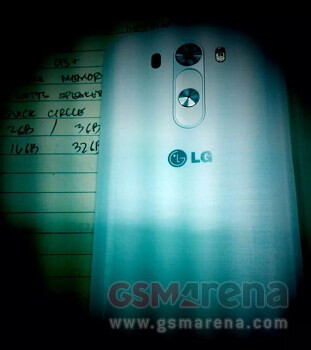 The LG G3 leaked out earlier