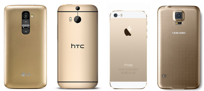 Poll results: Gold-colored smartphones - hot or not?
