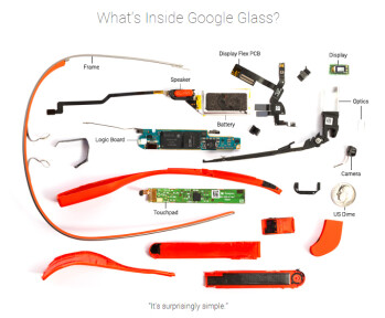 Project Glass bill of materials reveals it costs just $80 to make what Google sells for $1500