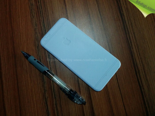 Apple iPhone 6 dummy surfaces on video, claims inspiration by the real thing