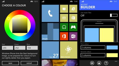Accent Builder - Windows Phone - Free