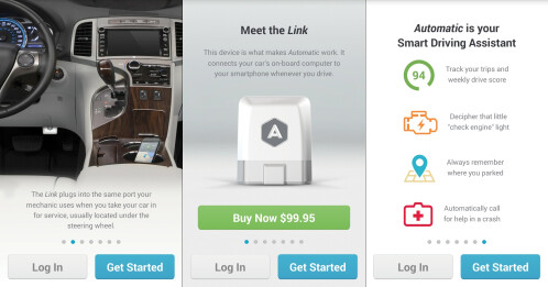Automatic - Android, iOS - Free (requires $99 dongle)
