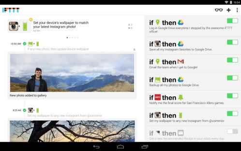 IFTTT - Android, iOS - Free
