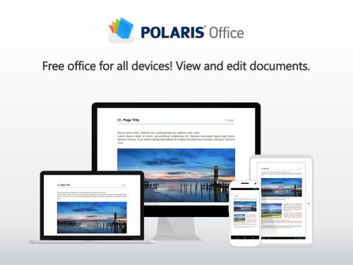 Polaris Office - Android, iOS - Free