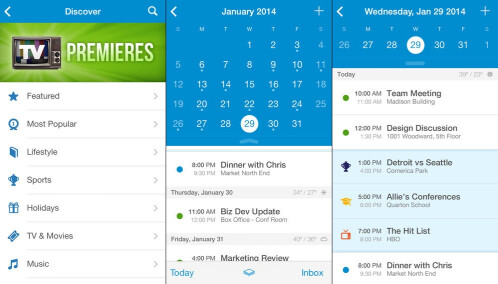UpTo Calendar - iOS - Free