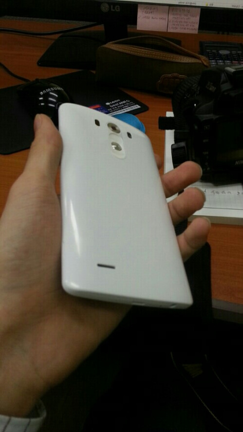 The LG G3 in the wild