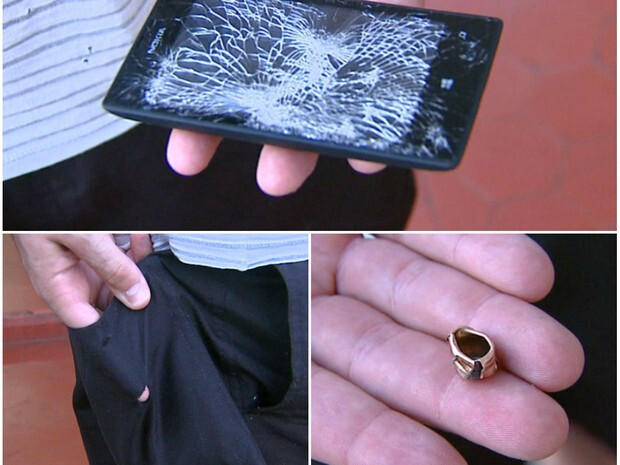 Nokia smartphone deflects bullet, saves police officer