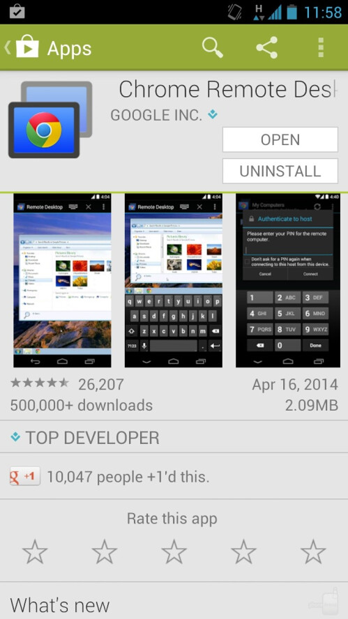 Download Chrome Remote Desktop for Android