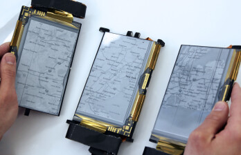Check out the completely flexible, modular PaperFold smart-device prototype on video