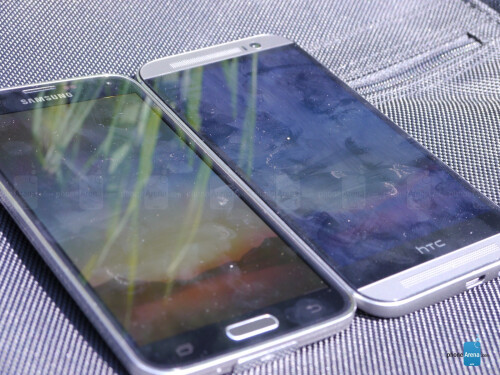 The battle for the Android top: Samsung Galaxy S5 vs HTC One M8
