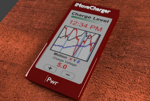 iMove charger uses your movements to recharge your phone