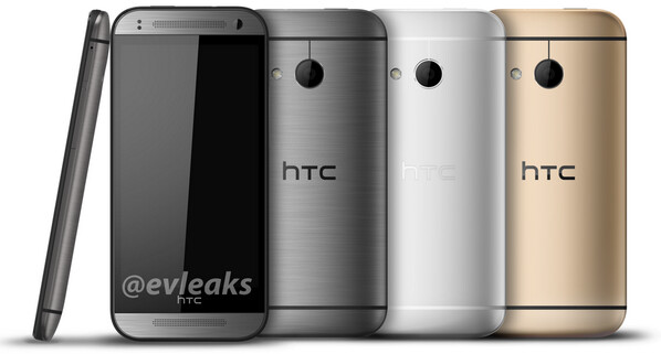 The real HTC One mini 2 shows up (in silver, grey and gold variants)