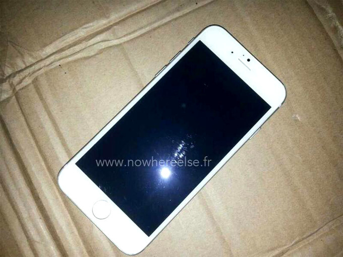 Another claimed iPhone 6 dummy hints at how the white version might look like