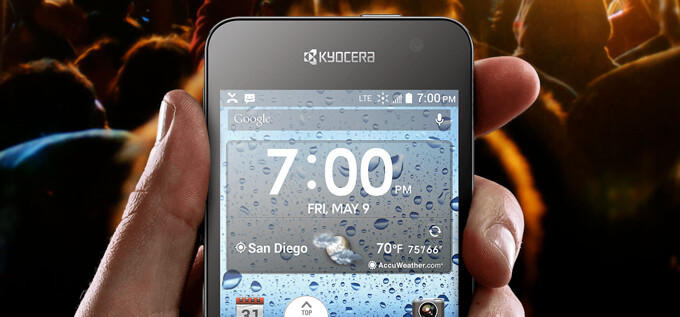 Water-resistant Kyocera Hydro Vibe launching at Sprint and Virgin Mobile this month
