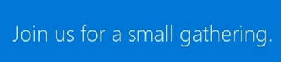 Microsoft's invite for a May 20th event, hints at something small being involved - Microsoft Surface mini to arrive next month sans built-in kickstand