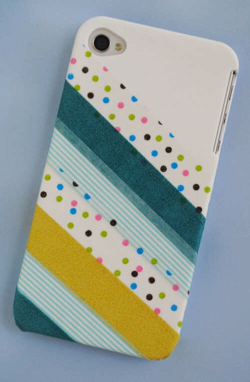 Cover your case in washi tape