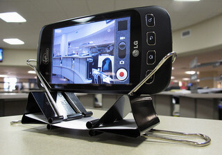 Paperclip dock which looks weird and awesome