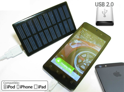 Solar-powered DIY phone charger - for the brave!
