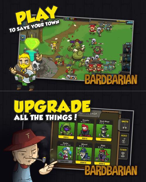 Bardbarian - Android, iOS - Free