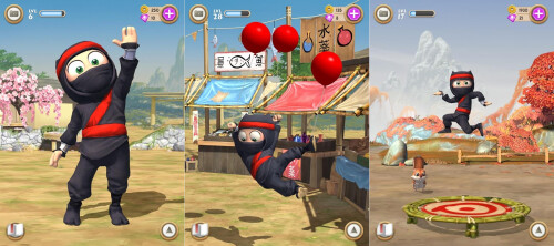 Clumsy Ninja - Android, iOS - Free
