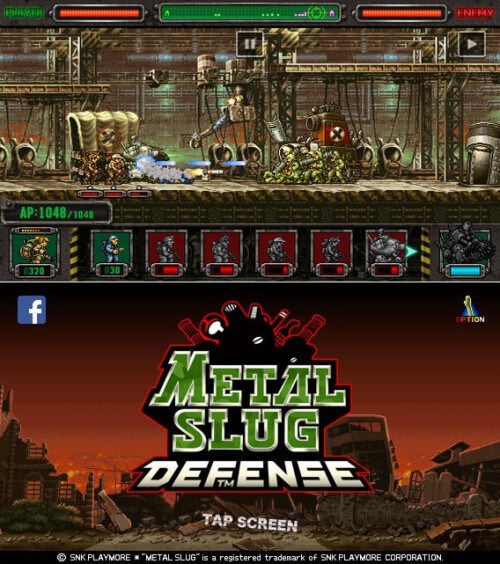 Metal Slug Defense - Android, iOS - Free