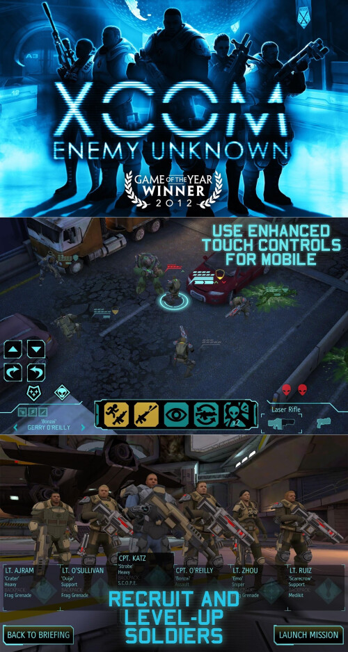 XCOM: Enemy Unknown - Android, iOS - $9.99