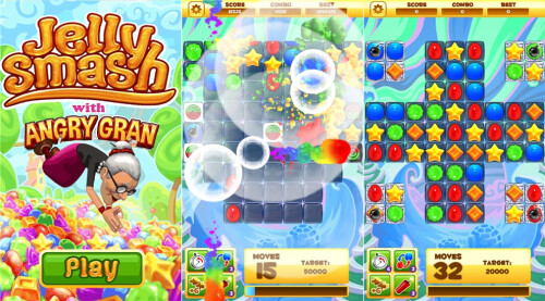 Jelly Smash - Windows Phone - Free