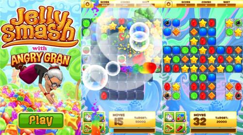 Jelly Smash - Windows Phone - Free