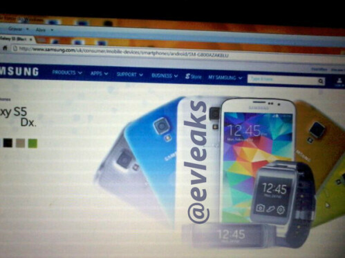 Is the Samsung Galaxy S5 Dx the Galaxy S5 mini?