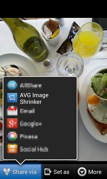 AVG Image Shrink & Share screenshots
