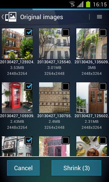 AVG Image Shrink & Share screenshots