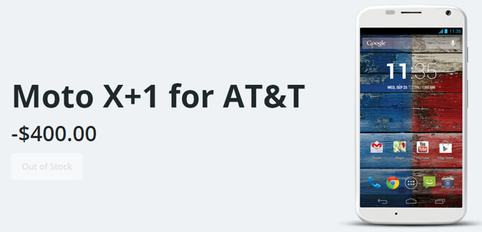 Moto X+1 for AT&T mentioned on Motorola's website, Verizon and Sprint variants might also be in the making