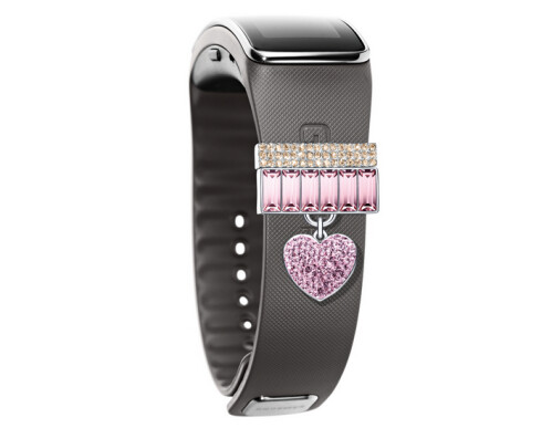Samsung Galaxy S5 and Gear Fit now have their own Swarovski crystal accessories